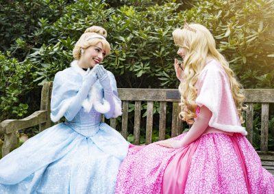 Prinses Assepoester & Prinses Doornroosje