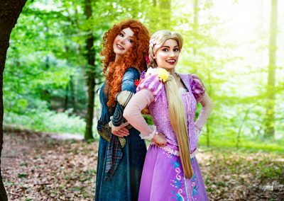 Prinses Merida & Prinses Rapunzel