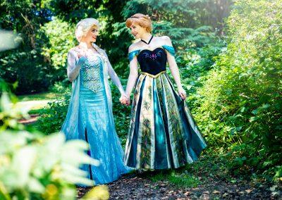 Koningin Elsa & Prinses Anna