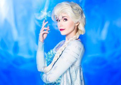 Koningin Elsa ijskoningin magische krachten - Magical Part kinderfeestje evenementen