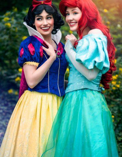 Prinses Sneeuwwitje & Prinses Ariel