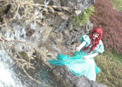 Prinses Ariel zeemeermin mermaid Magical Party prinses inhuren kinderfeestje