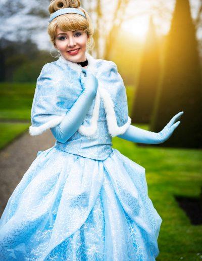 Prinses Assepoester Cinderella Magical Party prinsessenfeestje kinderfeestje verjaardag prinses inhuren