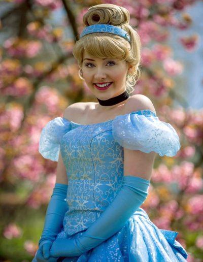 Prinses Assepoester Cinderella Magical Party prinsessenfeestje kinderfeestje verjaardag prinses inhuren bloesem