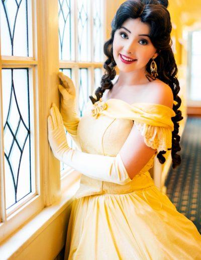 Prinses Belle en het Beest Magical Party prinsessenfeestje prinses inhuren kinderfeestje