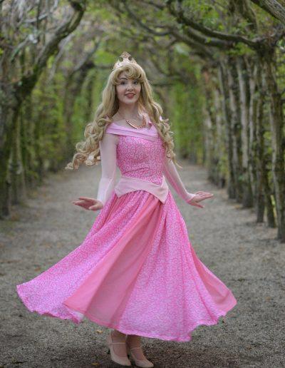 Prinses Doornroosje Magical Party Schone Slaapster Prinsessenfeestje Kinderfeestje Prinses inhuren dans