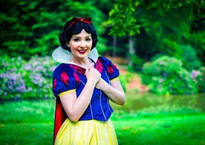 Prinses Sneeuwwitje Magical Party kinderfeestje prinsessenfeestje prinses inhuren
