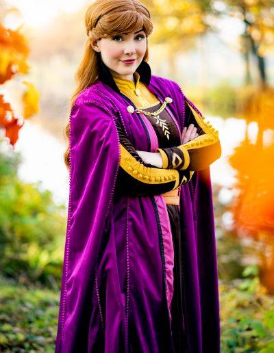 Koningin Anna Magical Party kinderfeestjes prinses inhuren sneeuwzusjes prinsessenfeestje