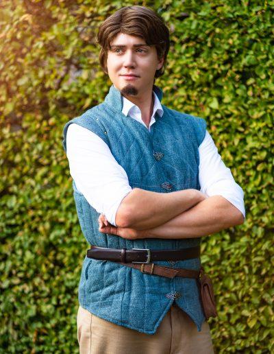 Prins Flynn Rider prinses Rapunzel Magical Party kinderfeestje prinses en prins inhuren prinsessenfeestje