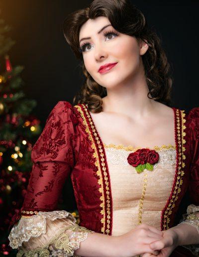 Prinses Belle Magical Party kerst prinses inhuren