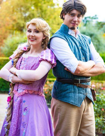 Prinses Raponsje en Prins Flynn Rapunzel Magical Party kinderfeestje prinsessenfeetstje prinses inhuren