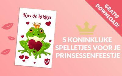 5 koninklijke spelletjes voor je prinsessenfeestje