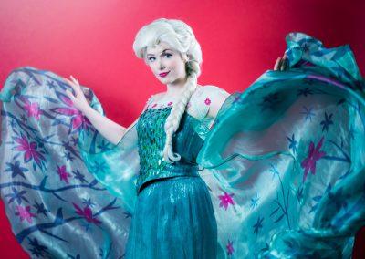Koningin Elsa - Frozen Queen - Magical Party prinsessenfeestjes prinses inhuren videoboodschap videobericht