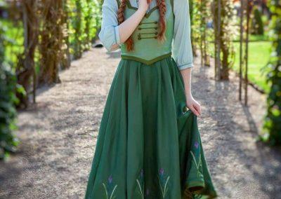 Magical Party - Prinses Anna frozen princess prinses inhuren kinderfeestje prinsessenfeestje videobericht videoboodschap themafeestje