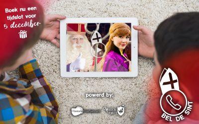 Videobellen met Sinterklaas & Prinses Anna