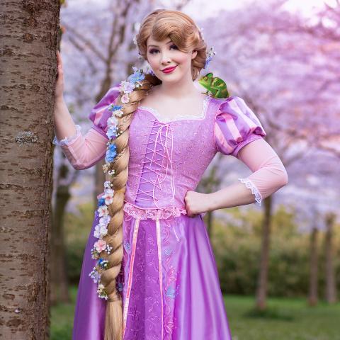 Karakter Rapunzel